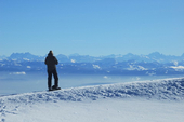 les alpes un régale en hiver et été